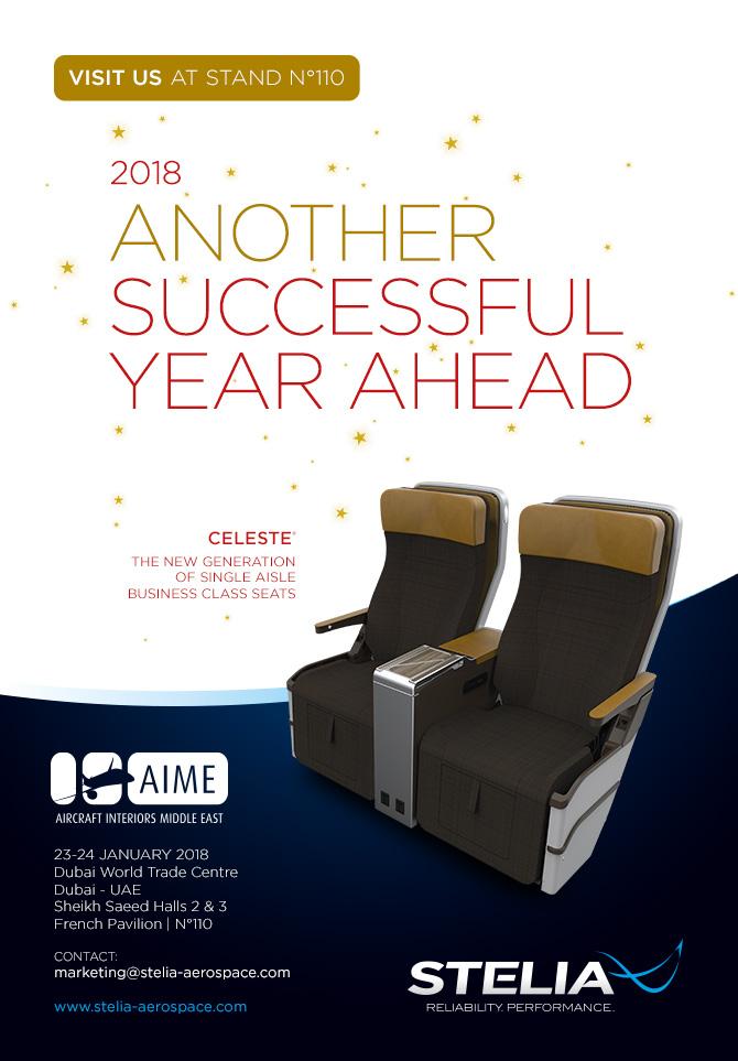STELIA Aerospace AIME 2018 Dubaï