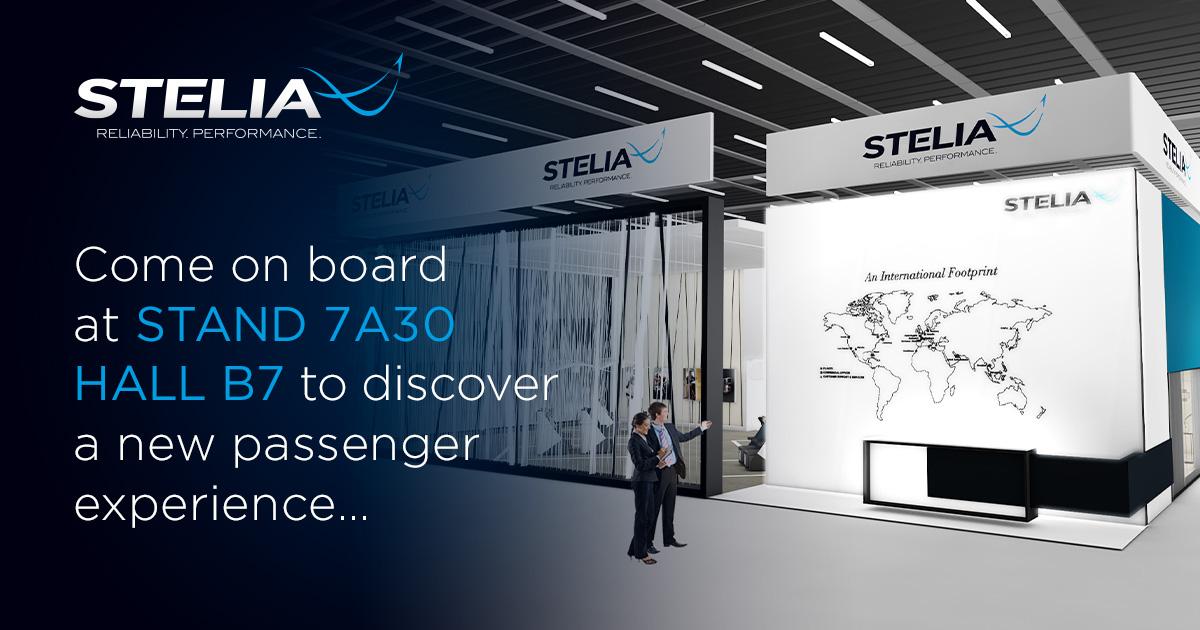 Visit STELIA Aerospace stand 7A30, Hall B7