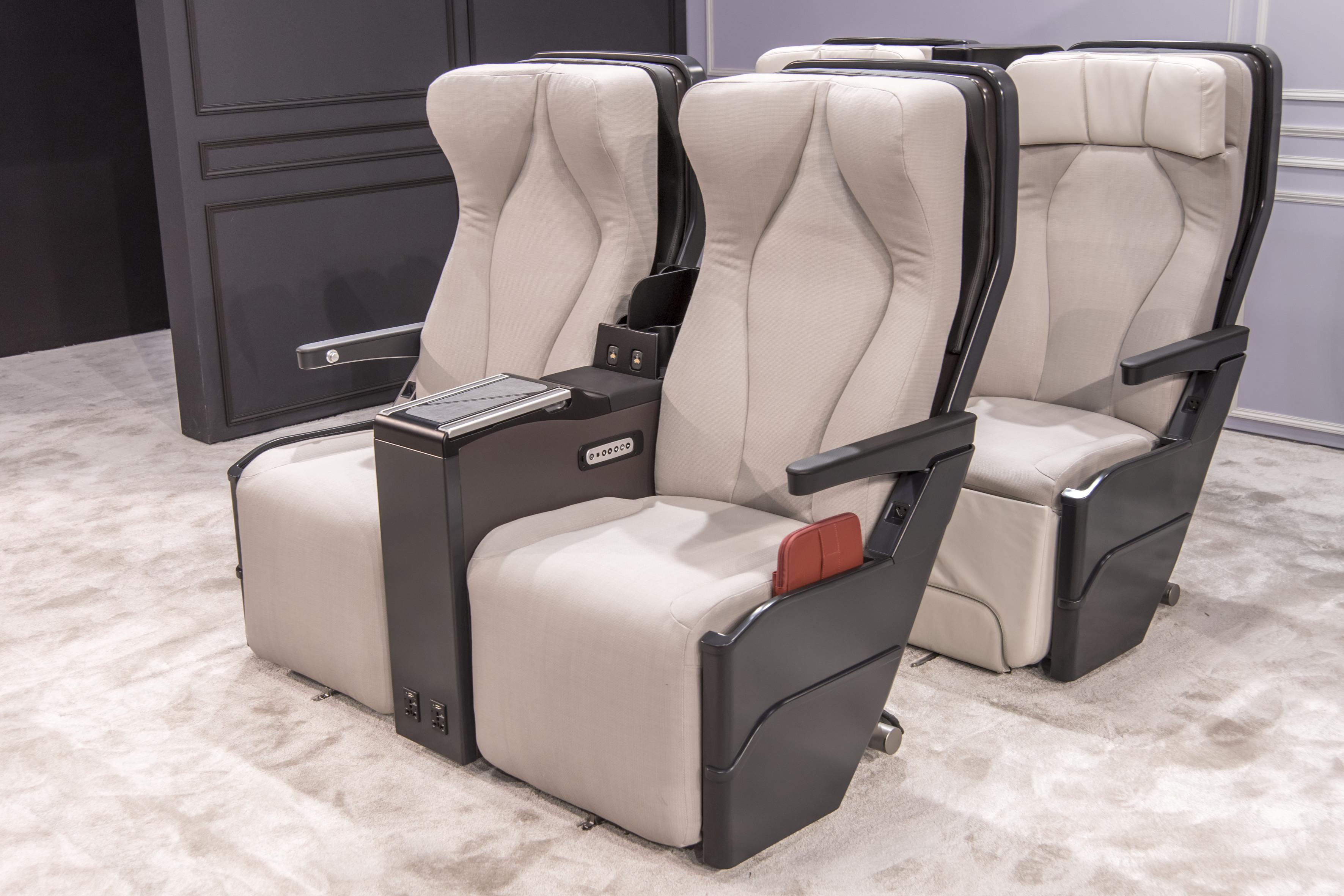 Le nouveau fauteuil Classe Affaires CELESTE de STELIA Aerospace désormais disponible pour la famille A320