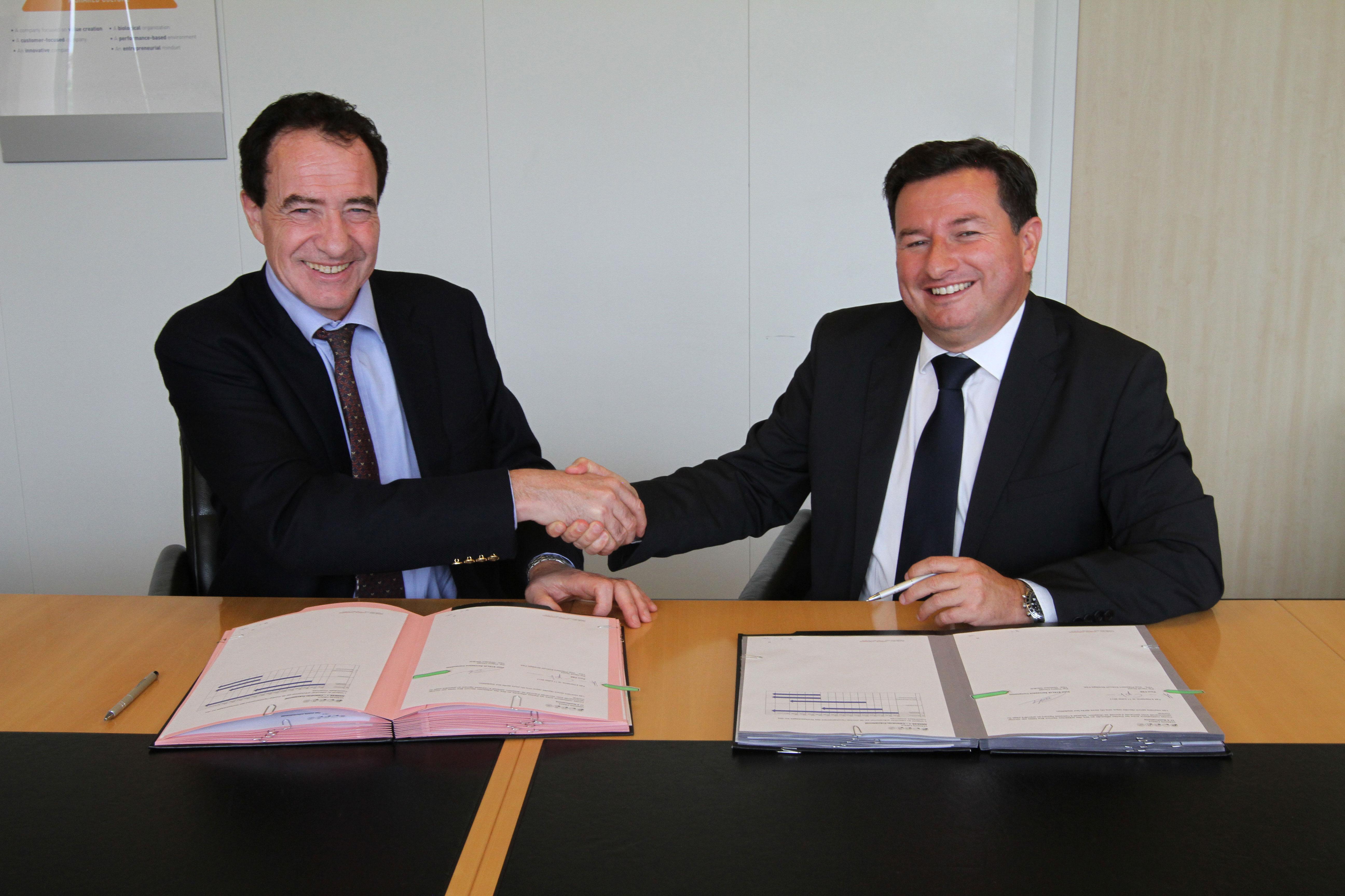 Stelia partenariat Faurecia