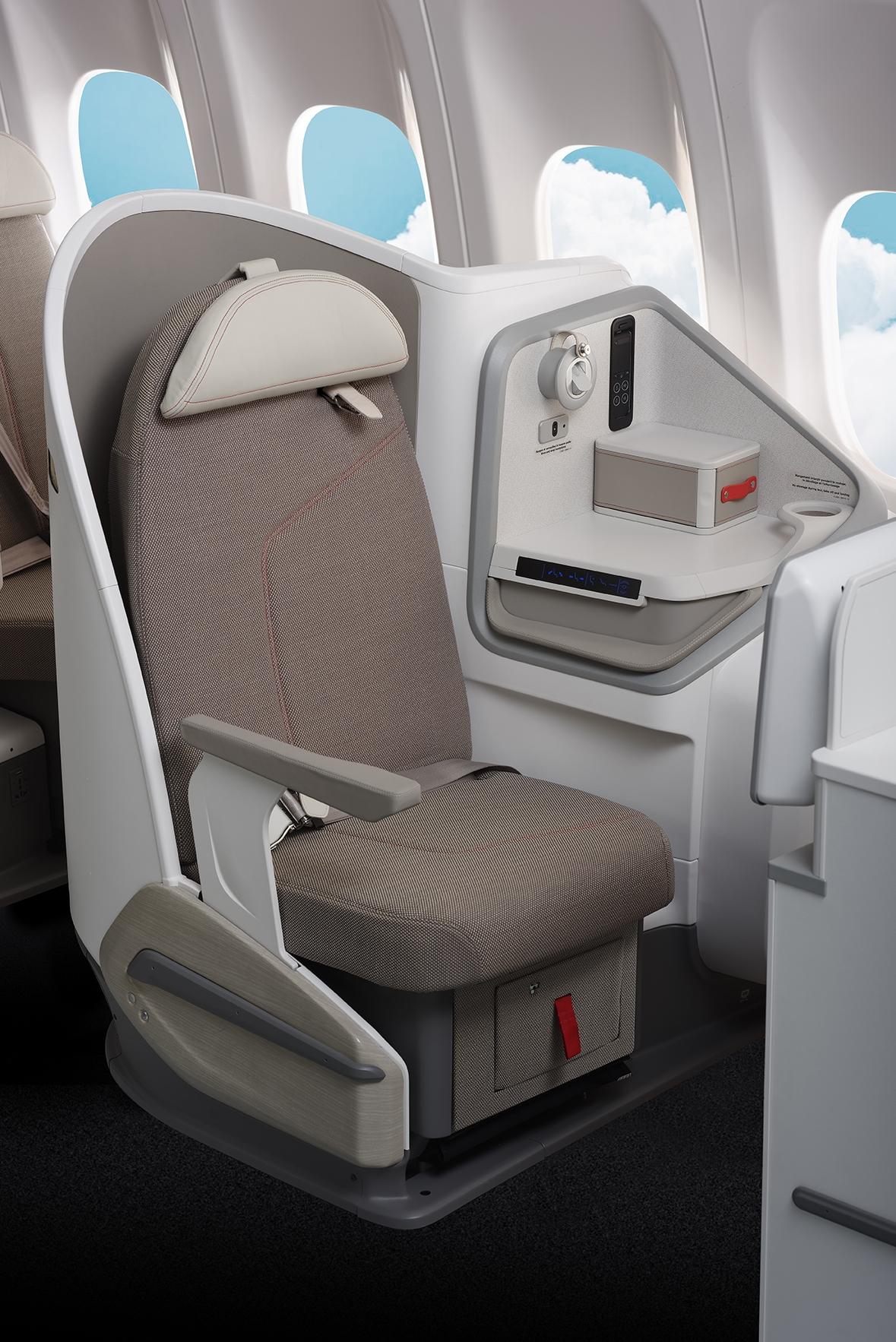Fauteuils passagers sur-mesure SIA STELIA BUSINESS SEATS Sans Ceinture