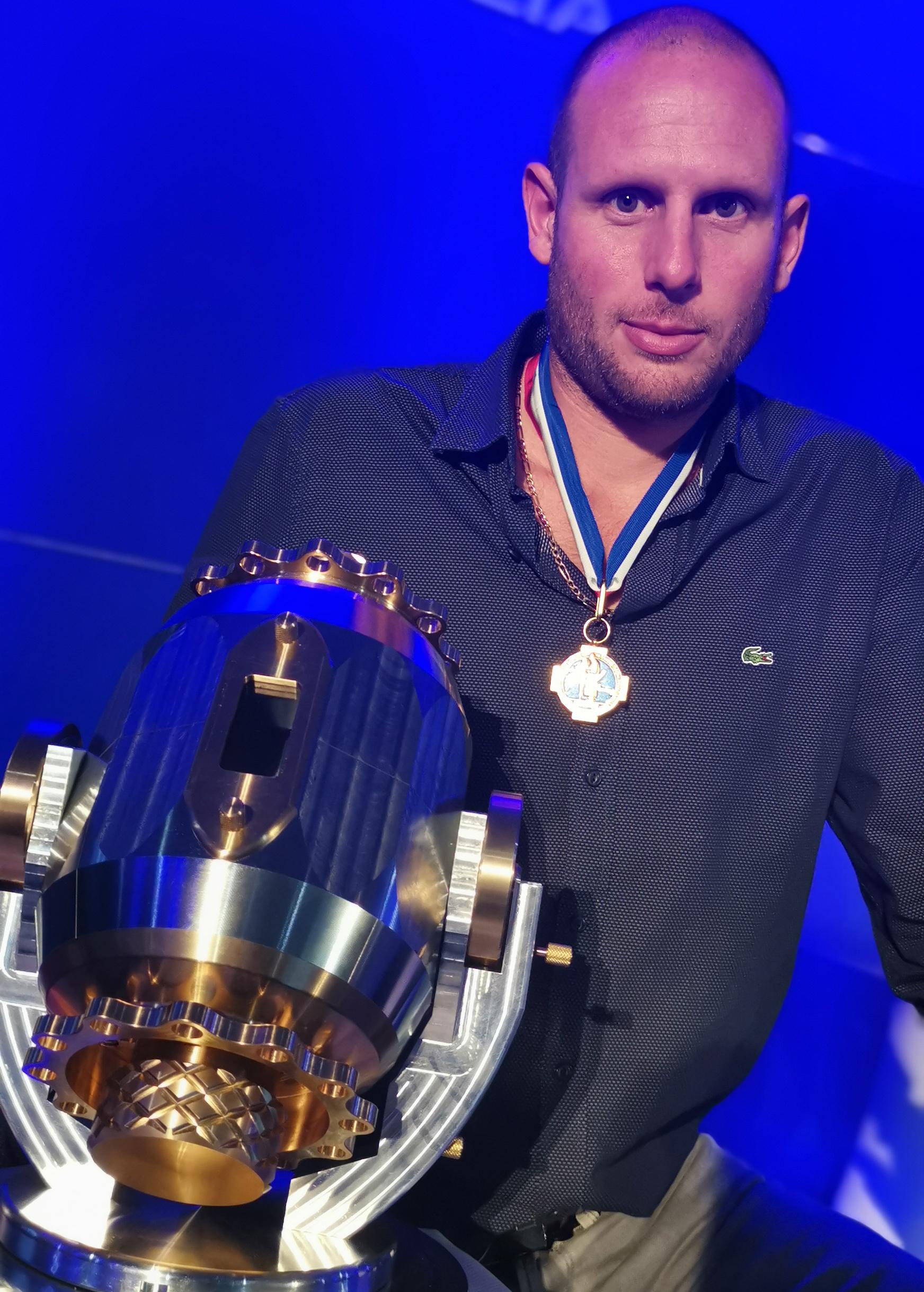 Romain JOSSO Meilleur Ouvrier de France 2019, dans la catégorie « Outillage Prototypage Mécanique ».