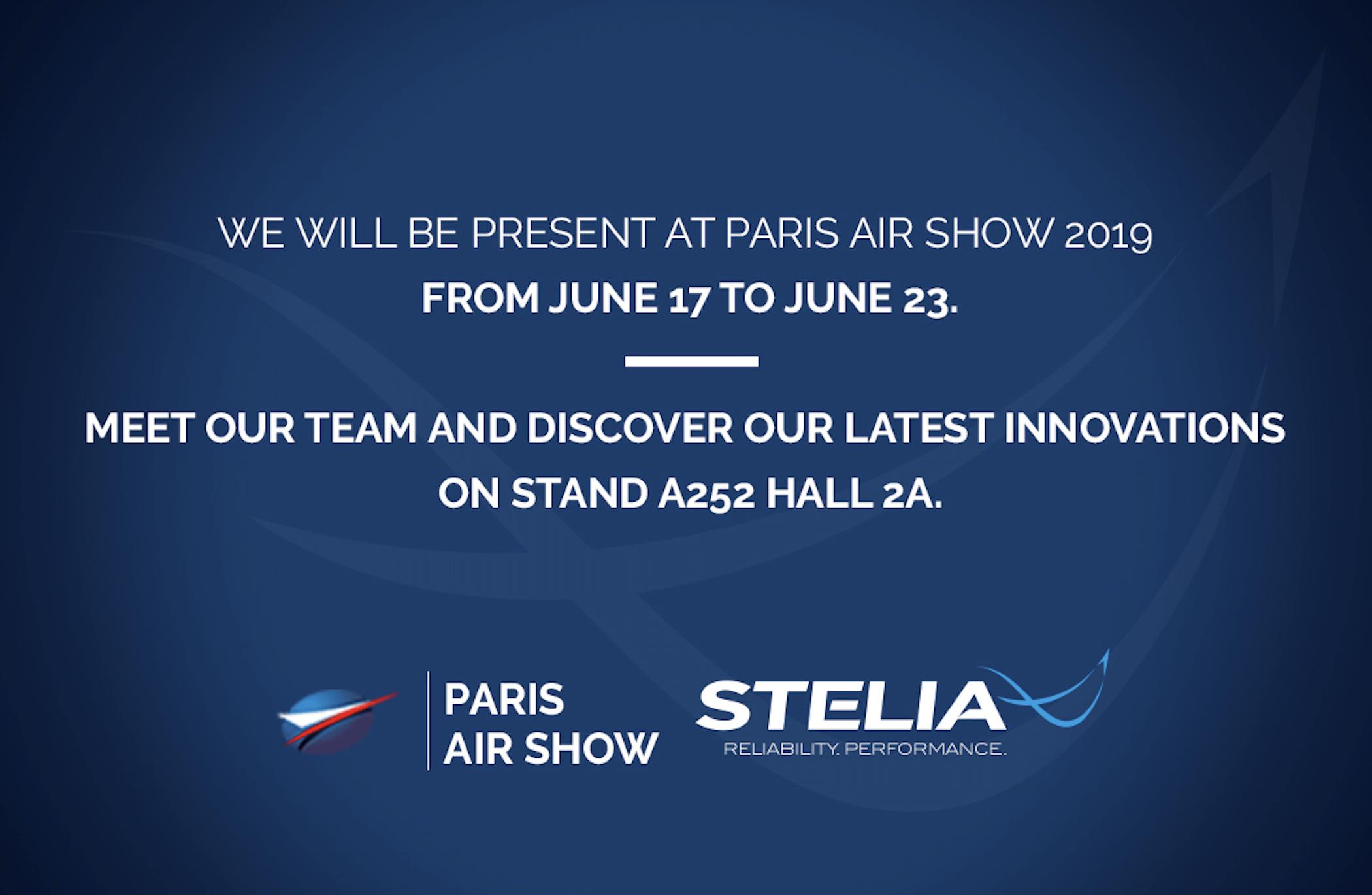STELIA Aerospace au Salon du Bourget 2019